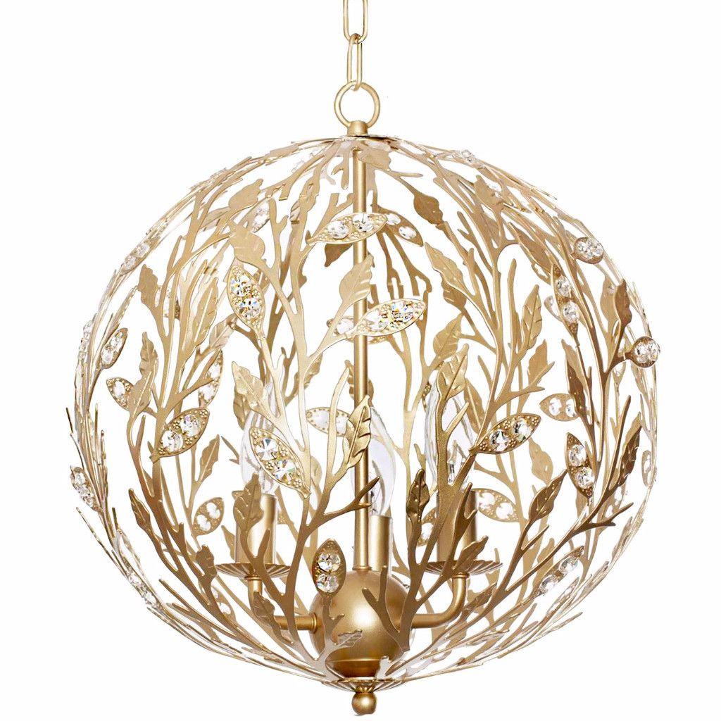 Luna Light Fixture Gold This Would Look Beautiful In Tenleys - Girls bedroom light fixture
