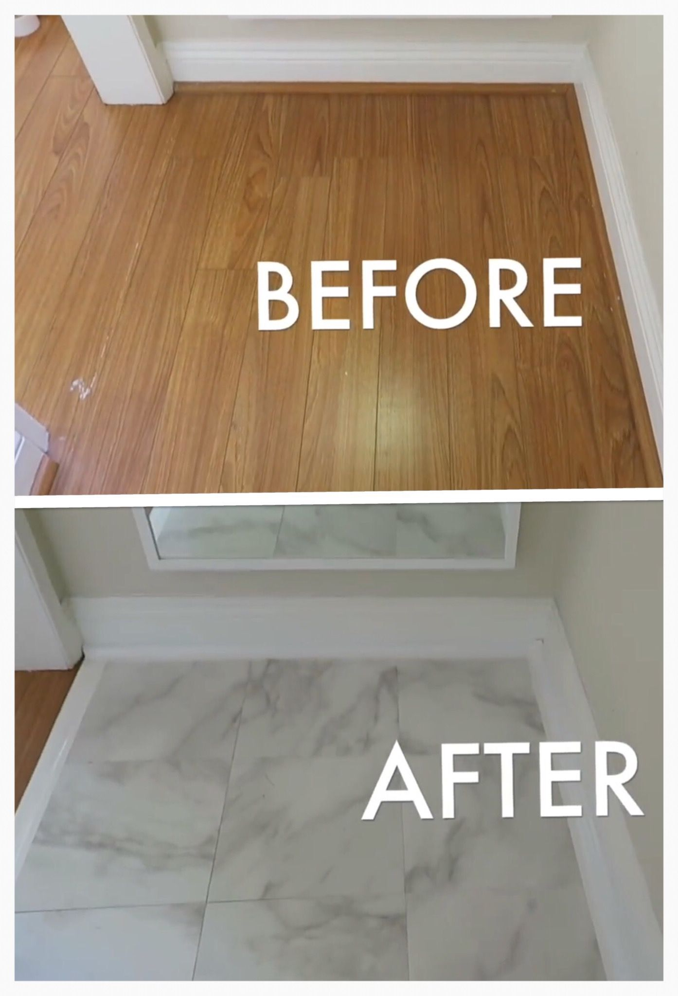 Removable Marble Floor Panel Good For Apartment You Can Get Nice Looking Flooring For Picture Areas Without Damaging The A Flooring Marble Floor White Floors
