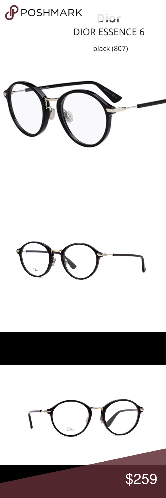 68adcf0c4836 Dior Eyeglasses Model Dioressence 6 NEW! Brand New Case and Cleaning Cloth  Included 💯% Authentic Christian Dior Accessories Glasses
