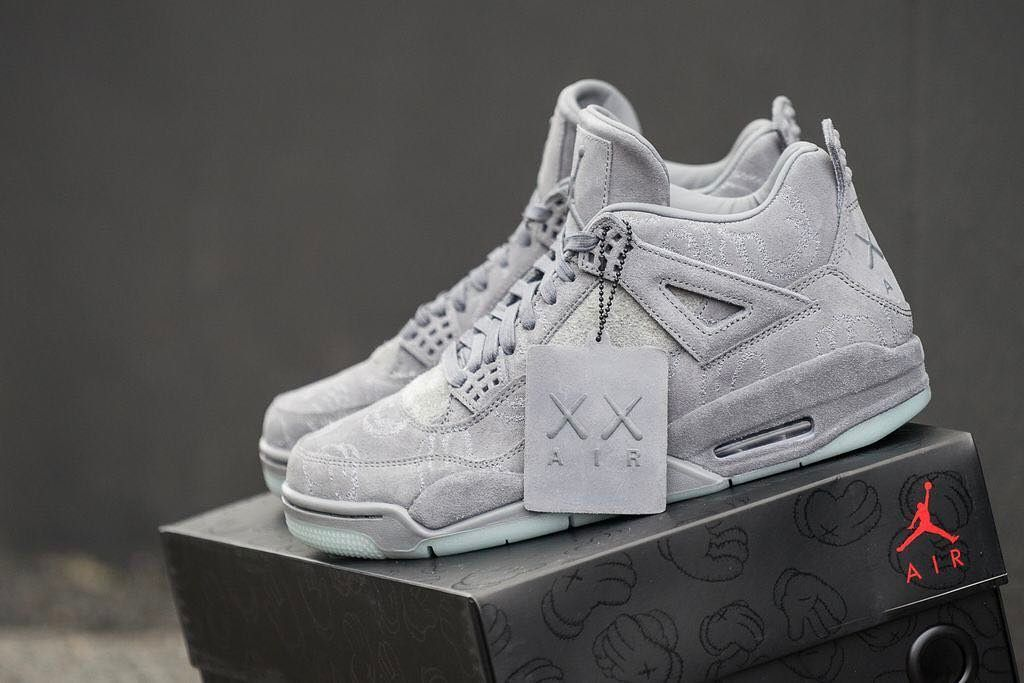 71a3cccc The @KAWS x Nike Air Jordan 4 Retro is in stock at kickbackzny.com with  worldwide shipping options.