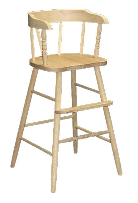 Whitewood Childu0027s Youth Chair Solid Parawood Youth Chair Gives Your Child A  22.5u2033 Seat Height At The Table! Fully Assembled And Ready To Add Your Paint  Or ...
