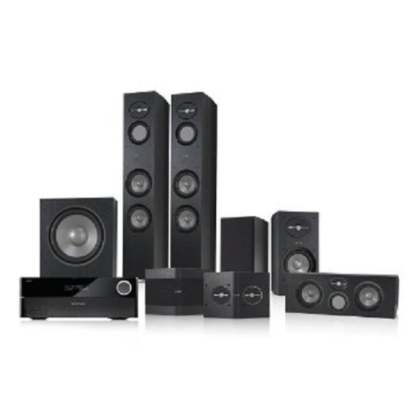 Infinity 5 1 Home Theater Bundle With Harman Kardon Avr 3700 Receiver Package Home Theater Speakers Home Theater Sound System Harman Kardon