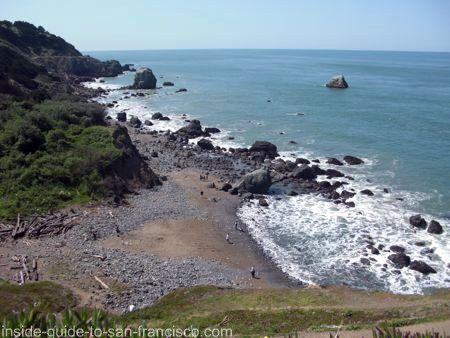 Lands End Mile Rock Beach San Francisco