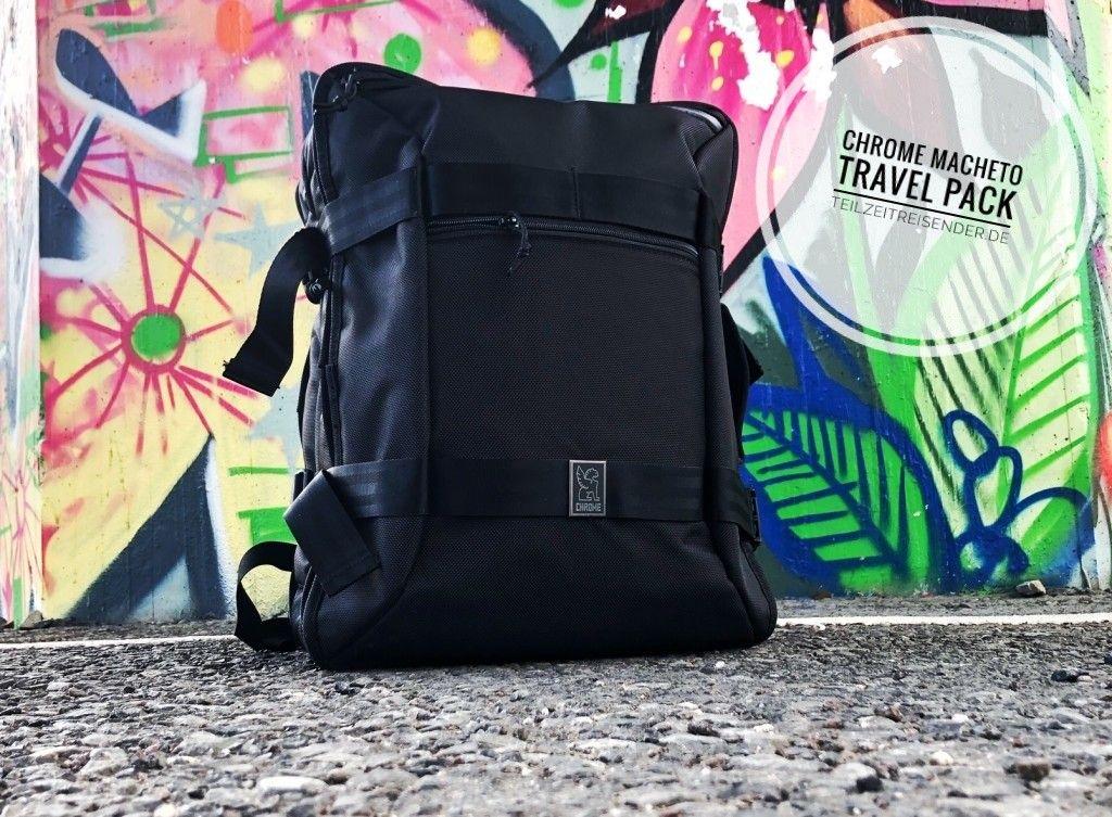 hat für Euch den Chrome Macheto Travel Bag getestet