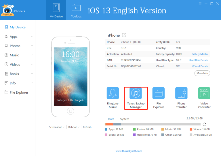 Download iTools iOS 13, 13.0.1, 13.0.2 Windows 7/8/10 (32