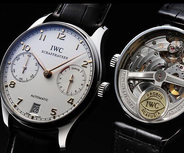 info for f4b6f 0fe7d IWC ポルトギーゼ オートマティック 7デイズ | Cool clock ...
