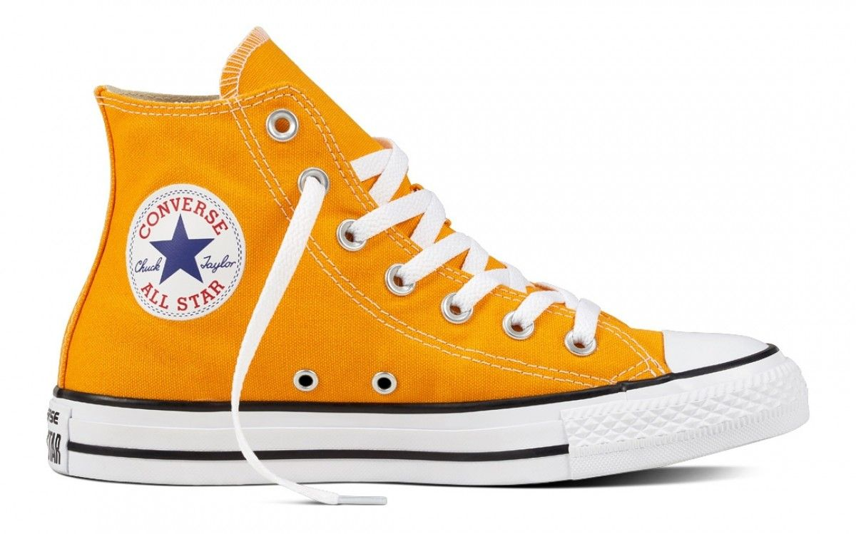 bc80682bc CONVERSE CHUCK TAYLOR ALL STAR HI TOP ORANGE RAY