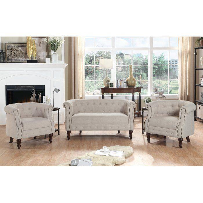 Best Kelty 3 Piece Living Room Set 3 Piece Living Room Set 400 x 300
