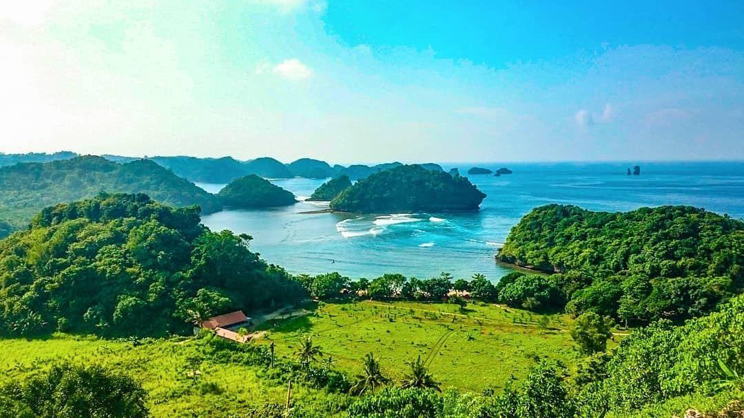 Paling Bagus 27 Foto Pemandangan Lautan Wisata Bukit