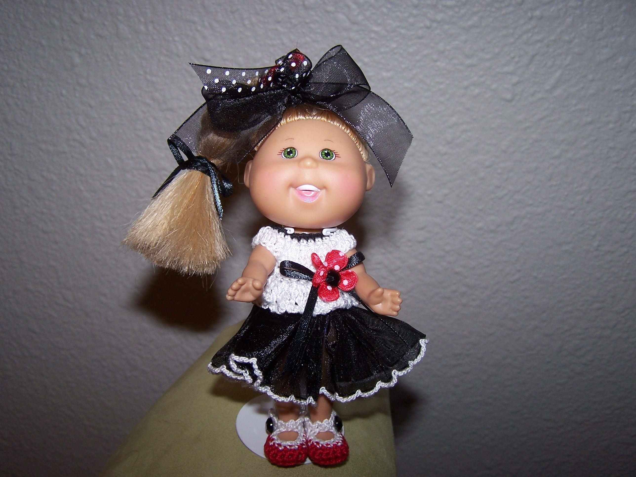 black and white polka dot dress toddler