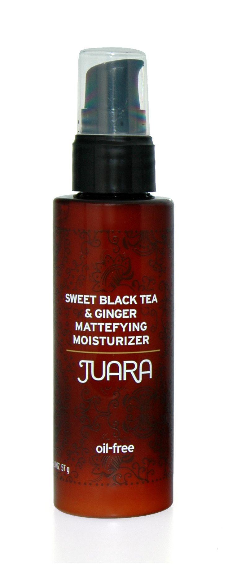 Sweet Black Tea & Ginger Mattifying Moisturizer (With