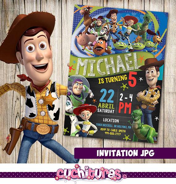 Invitación de Toy Story Toy Story fiesta invitación de  d329c0e2ea4