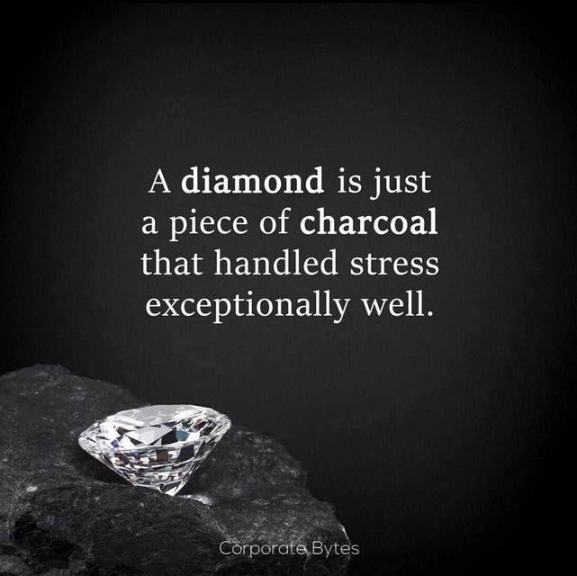 36a2ab55ea4e6fab73efbec0f69166b1 Pressure Quotes Diamond Quotes