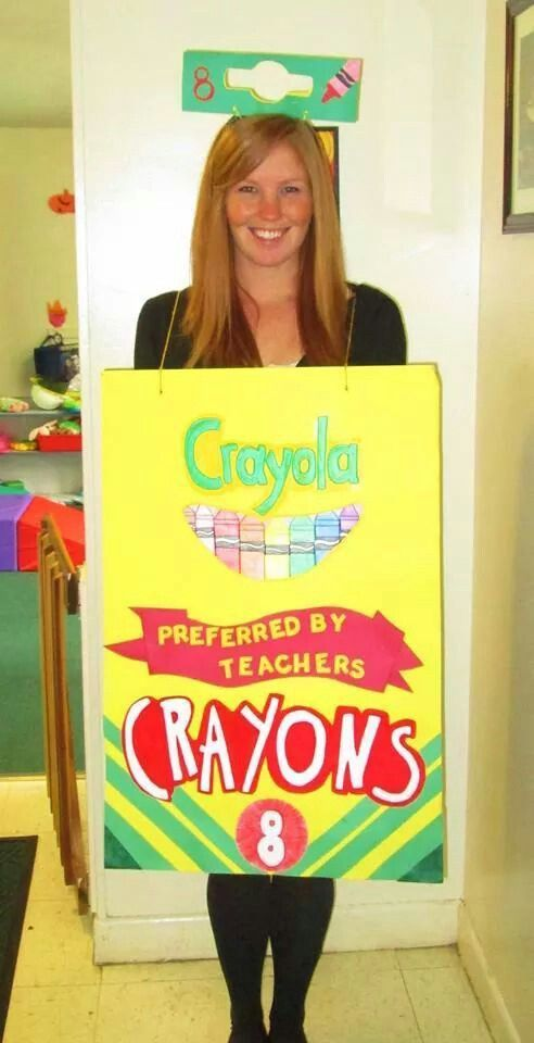 3762e6a56930d1faeffd05a30ec16a50jpg 492960 art pinterest crayon box halloween costumes and costumes - Halloween Box Costumes