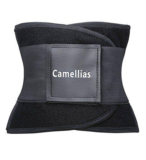 36cb9c6e2ad Camellias Women s Waist Trainer Belt - Body Shaper Belt For An Hourglass  Shaper at Amazon Women s Clothing store