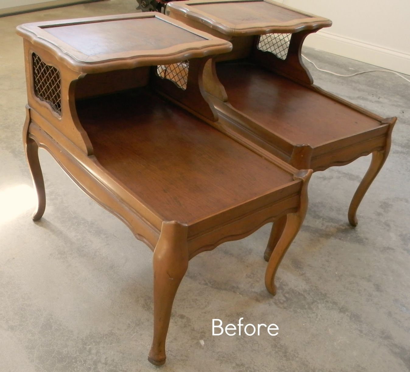 old end tables
