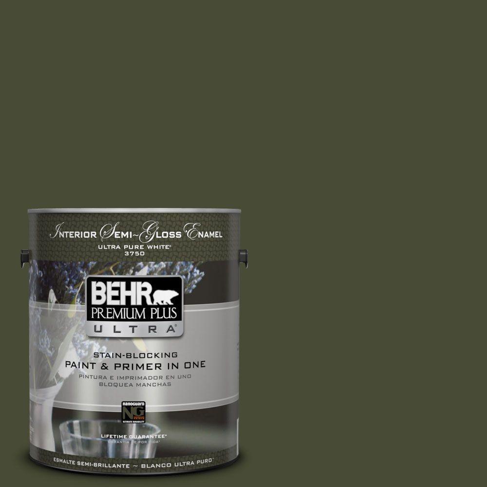 BEHR Premium Plus Ultra 1-gal. #ecc-37-3 Freshwater Marsh S