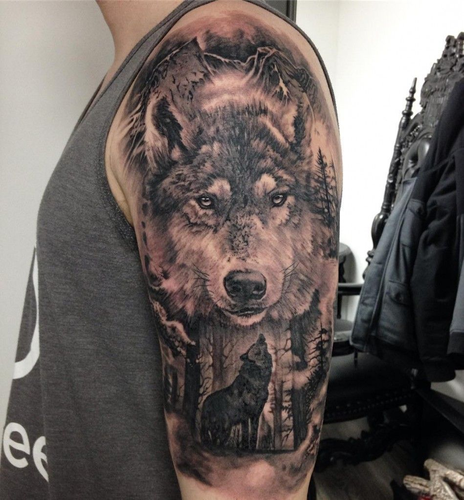 Pin By Artem Pylypchuk On Tattoo Ideas Wolf Tattoos Wolf Tattoo Sleeve Wolf Tattoo Forearm