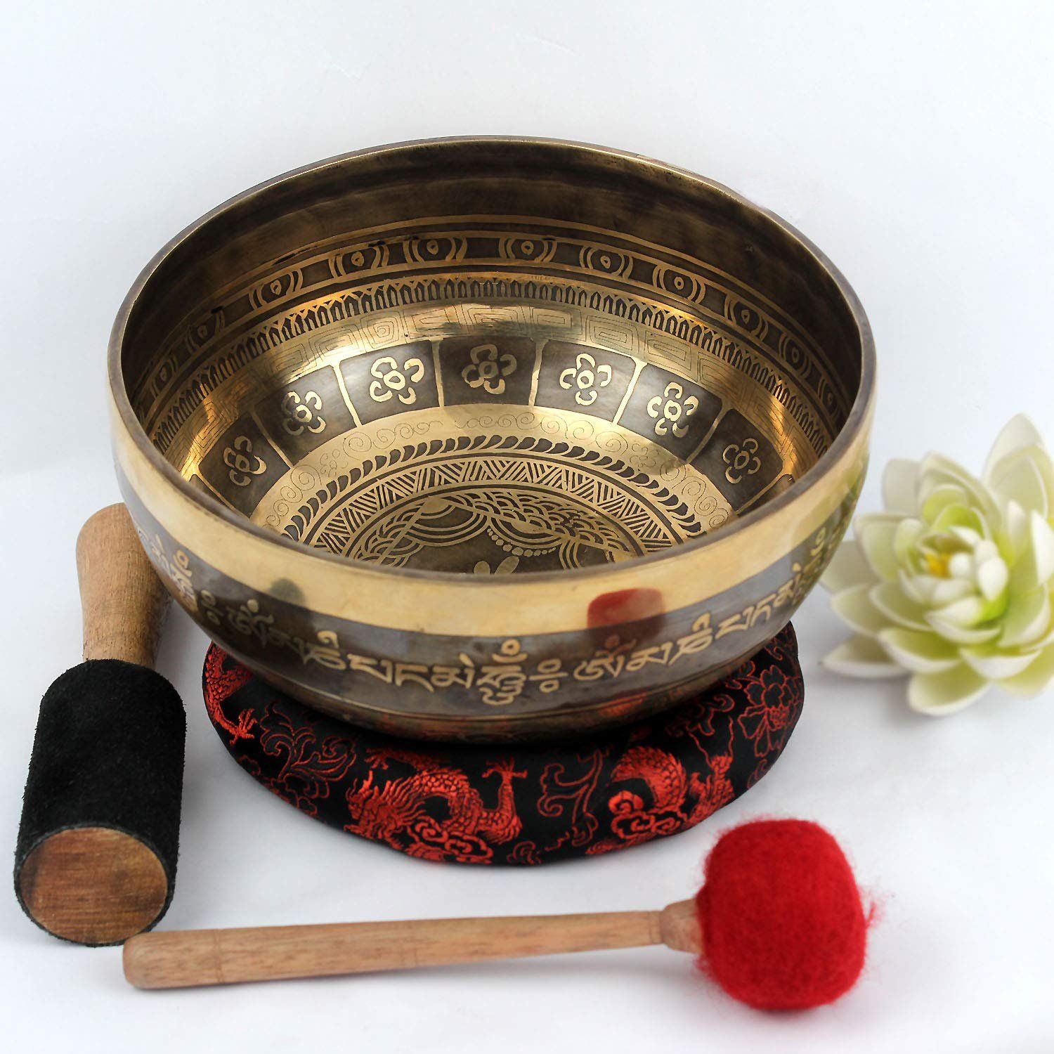 8 Inches Sound Therapy singing bowlSinging bowl from
