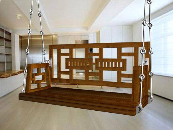 teak wood swings , indian swings , wooden swings , porch swings  manufacturer in mumbai,india  MEC