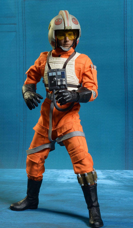 Sideshow Star Wars X Wing Pilot Luke Sixth Scale Figure Sideshow Star Wars Star Wars Cast Star Wars Figures