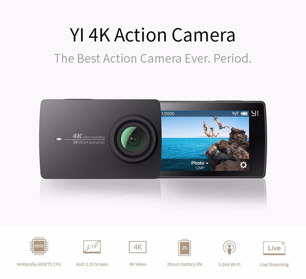 Buy YI 4K Action Camera International Edition Ambarella