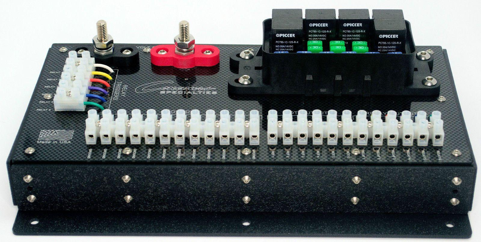 waterproof heavy duty relay fuse center 270 amps block box off road boat utv ebay [ 1600 x 808 Pixel ]