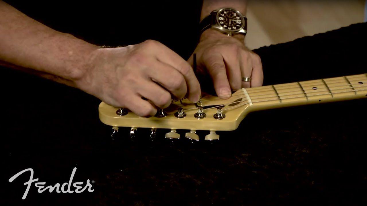 How to truss rod adjustment fender guitar building rod