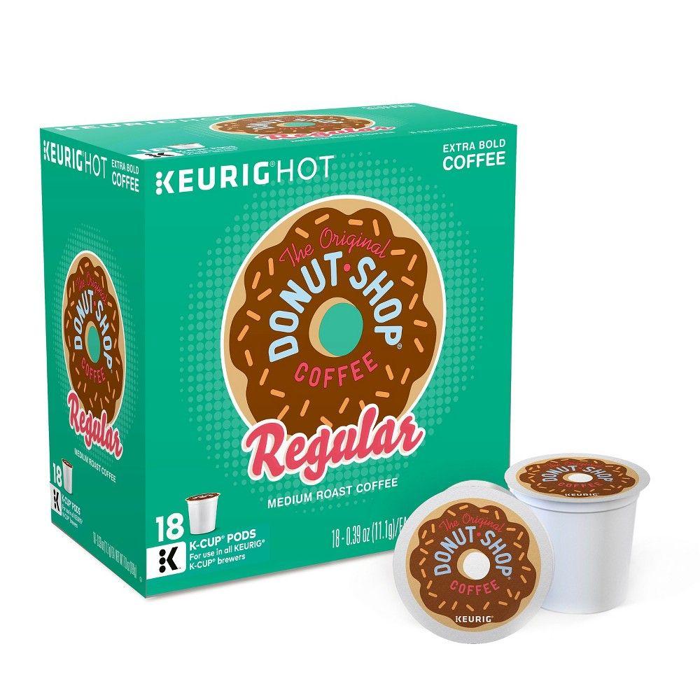The Original Donut Shop Medium Roast Coffee Keurig KCup