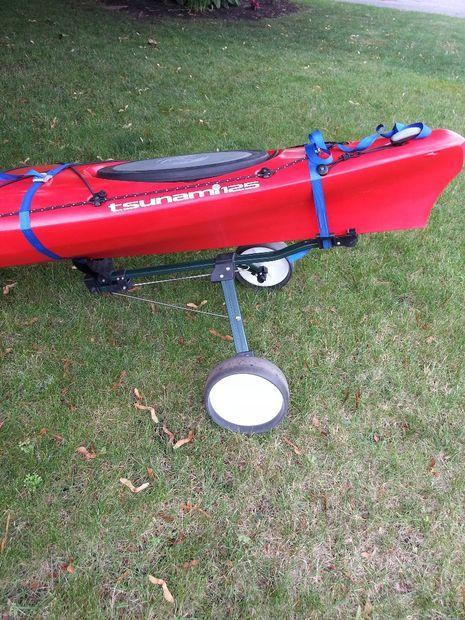 Picture of Turn a Golf Cart into Kayak Dolly