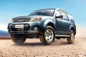 Dịch vụ cho thuê xe du lịch: Cho thuê xe 7 chỗ Ford Everest tại Hà Nội