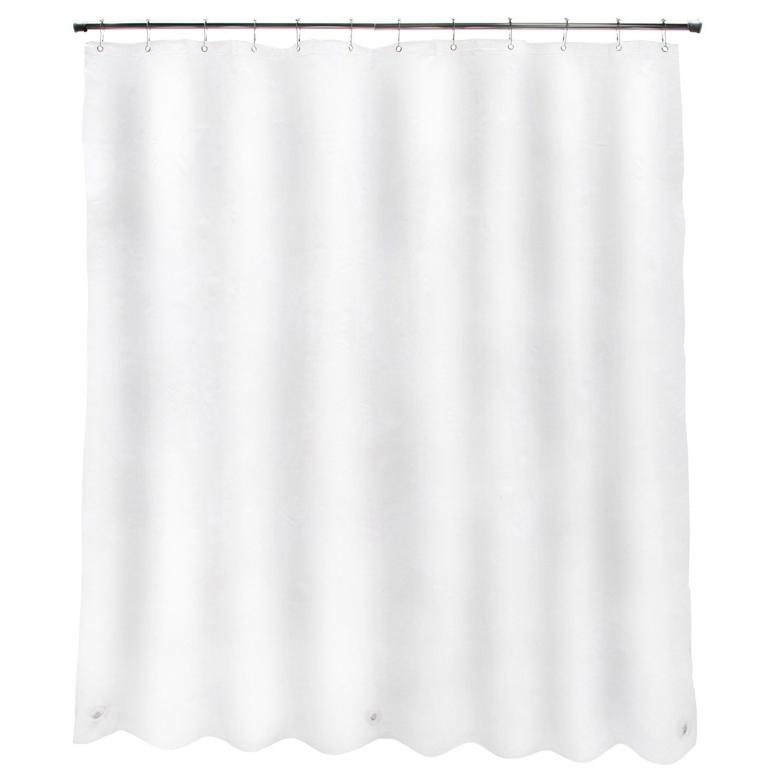 Kenney Heavyweight Peva Shower Curtain Liner Vinyl Shower Curtains Shower Curtains