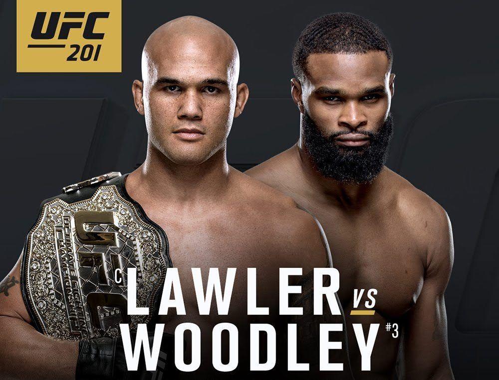 nice MMA Digest Update UFC 201 has 2 title battles