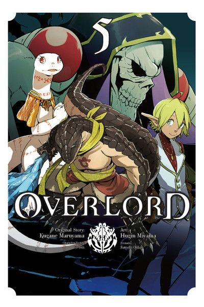 Overlord. Anime. Manga. Artwork Featured.