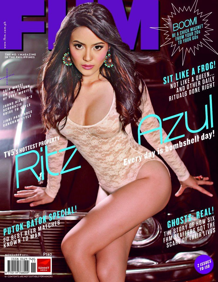 Ritz Azul Fhm Philippines Pinterest Models