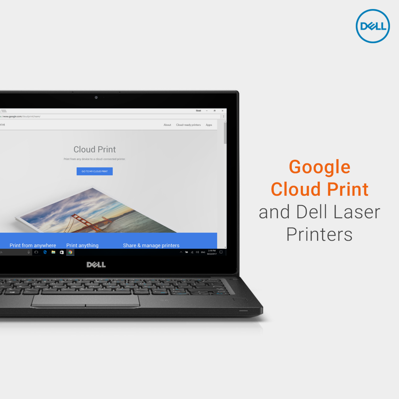 Print Anywhere Using Google Cloud And Dell Laser Printers Here Are The Quick