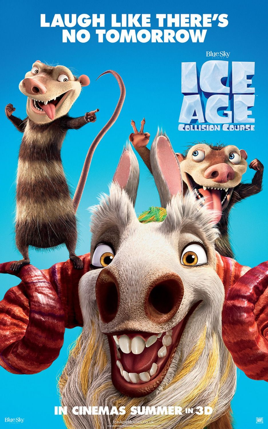 Return To The Main Poster Page For Ice Age 5 Movie Time In 2019