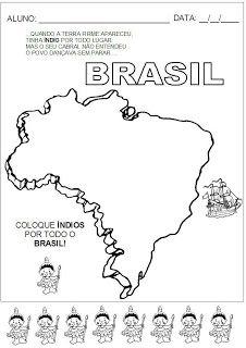 Descobrimento do Brasil - Imprimir