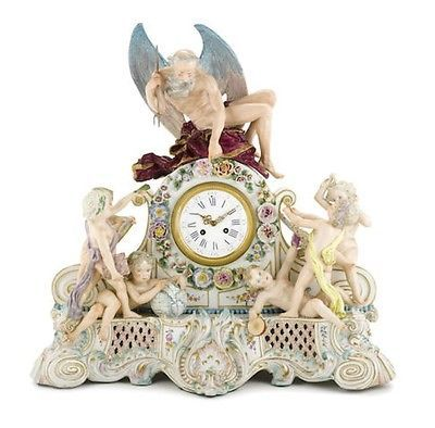 An imposing continental #porcelain figural #mantel #clock emblematic of the arts ,  View more on the LINK: 	http://www.zeppy.io/product/gb/2/172150873843/