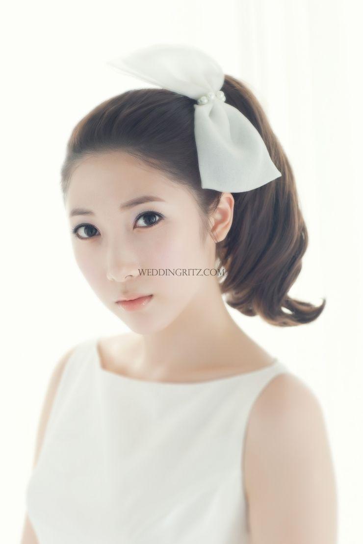 korea wedding hair and make-up   Kekkonshiki =)   Pinterest   Makeup ...