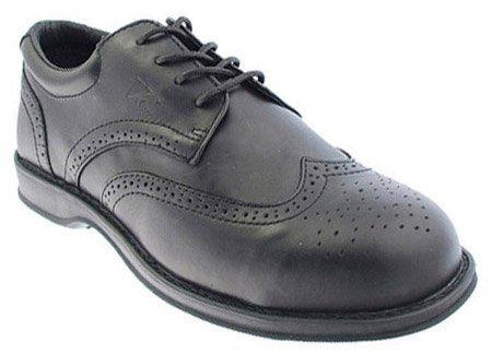V-Tech Men's VC100 Diplomat Safety Shoes 7 UK Black JdwdLENZ