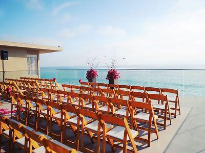 His Beach Wedding Surf And Sand Resort Laguna Weddings Orange County Location 92651