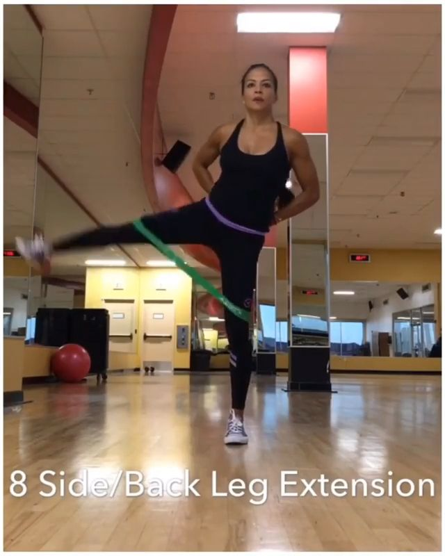 Resistance Bands exercise.