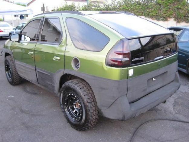 Just Might Have To Do This Pontiac Aztek Pontiac Carros