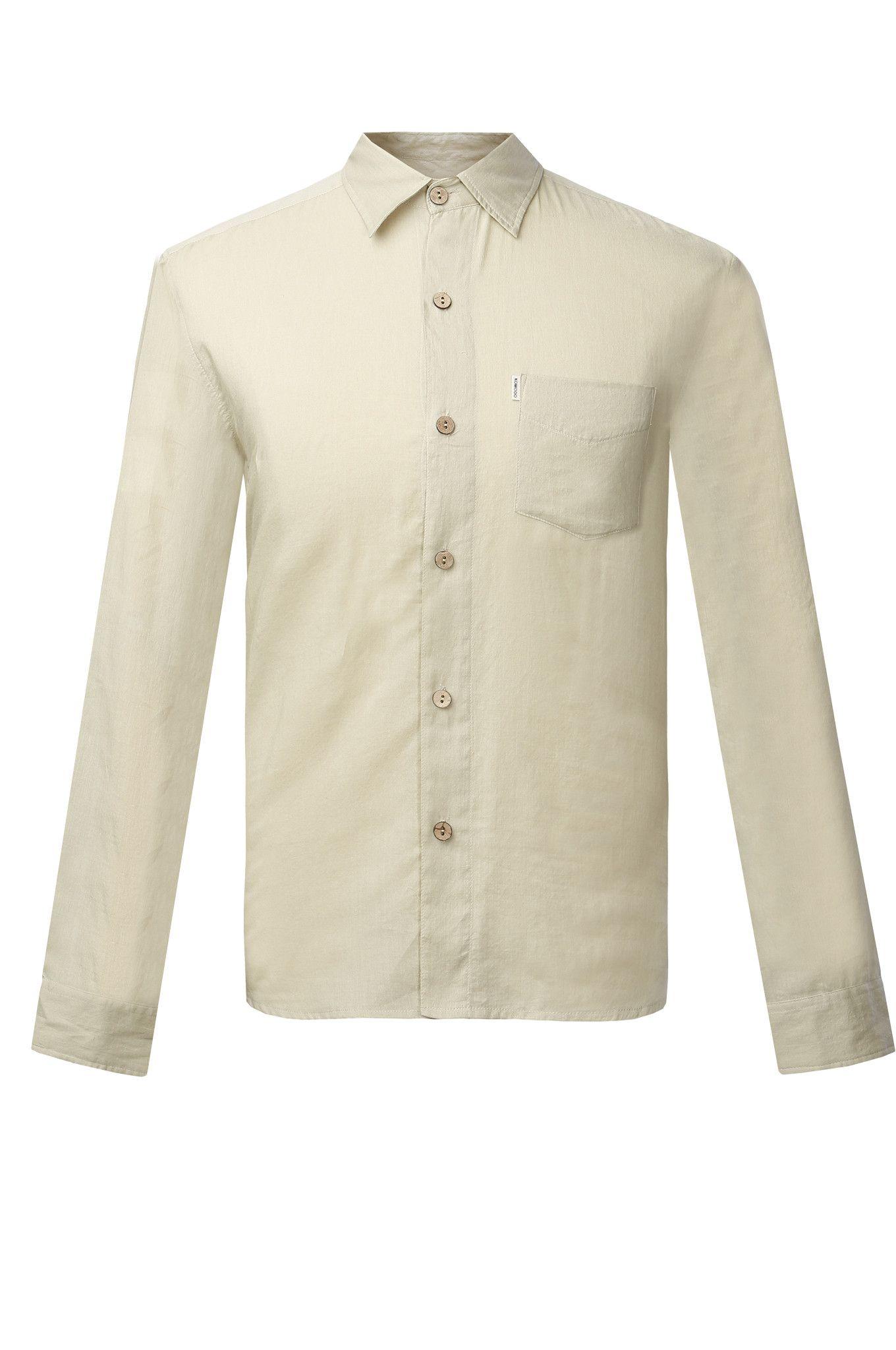 Natural Chic Long Sleeve Shirt