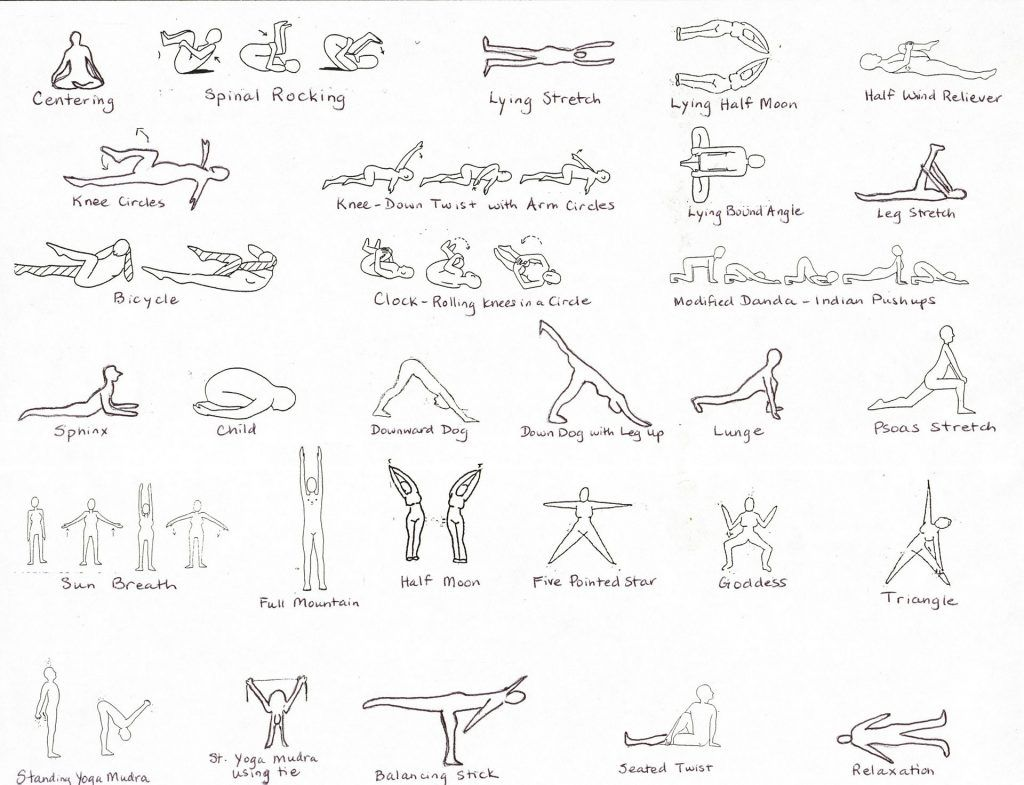kripalu yoga poses  Types of yoga, Kripalu yoga, Different types