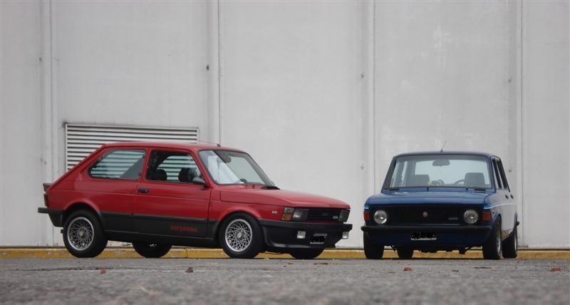 Fiat 147 Sorpasso Y Fiat 128 Iava 1300 Con Imagenes Fiat 128