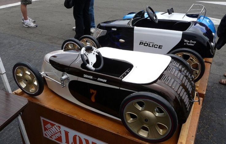Pin by leo zugner on cars | Coches de pedal, Carritos de ...