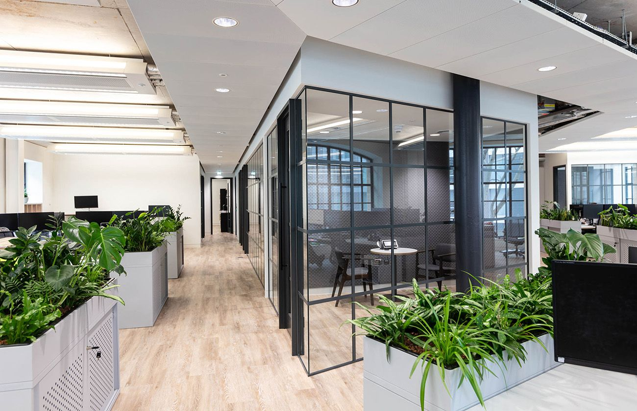 London Based Law Firm Northridge Law Has Recently Appointed Workplace Design Firm Thirdway Interio Small Office Design Law Office Design Office Interior Design