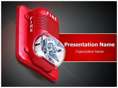Fire Alarm Powerpoint Template Is One Of The Best Powerpoint